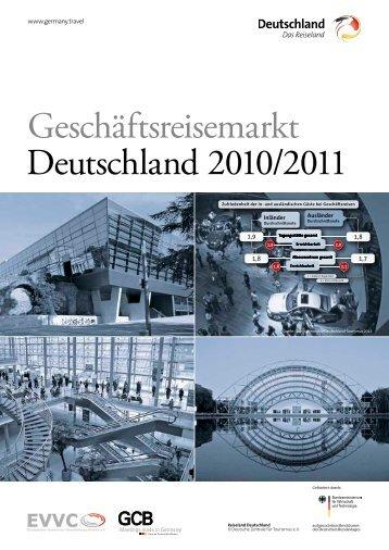 Geschäftsreisemarkt Deutschland 2010/2011 - Germany Travel
