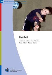 Handball - attraktiv und