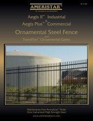 Ornamental Steel Fence - Ameristar Fence Products