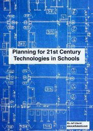 Planning for 21st Century Technologies in Schools - The Thinking ...
