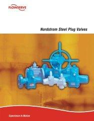 Nordstrom Steel Plug Valves Brochure