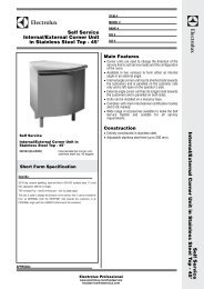 Self Service Internal/External Corner Unit in Stainless Steel Top - 45 ...