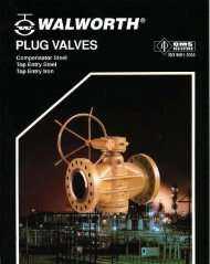 Plug Valves Compensator Steel Top Entry SteelTop Entry - Flow and ...