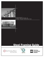 Steel Framing Guide - why steel framing?