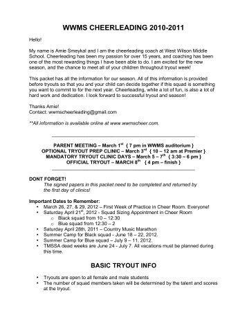 Youth Cheerleading ByLaws Rosters And Eligibility