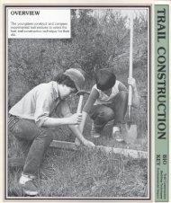 Download the activity PDF file: TrailConstruction.pdf - OBIS Outdoor ...