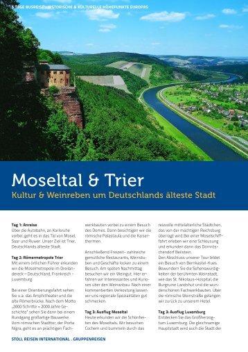 Moseltal & Trier - Stoll Reisen International
