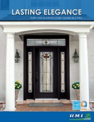 Lasting ELEgancE - HMI Doors