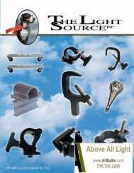Clamps & Hardware Catalog - All Bulbs and Expendables