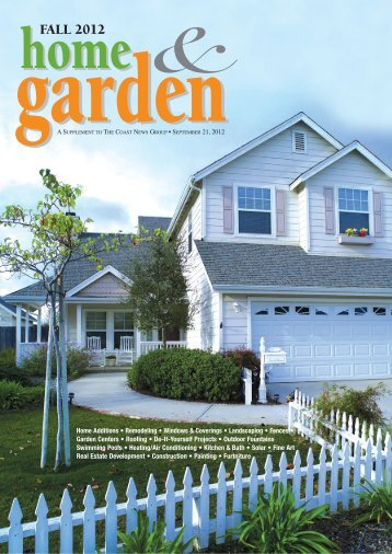 Fall Home & Garden Guide - The Coast News