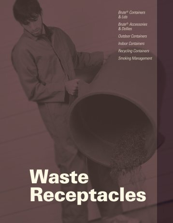 Waste Receptacles - Harter Supply