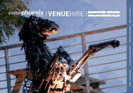Venue Hire Brochure - Exeter Phoenix