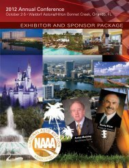 2012 Annual Conference - National Auto Auction Association