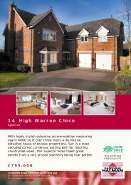 14 High Warren Close - Check