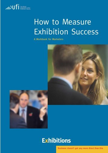 "Booklet ""How to Measure Exhibition Success"" - UFI"