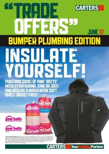 Bumper Plumbing edition - Carters