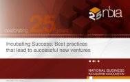 Incubating Success: Best practices that lead to ... - Icsaudi.org
