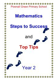 Mathematics Steps to Success and Top Tips Year 2 - Pownall Green ...