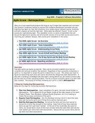Agile Scrum - Retrospectives - Techwell
