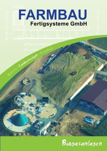 Biogasanlagen - Farmbau
