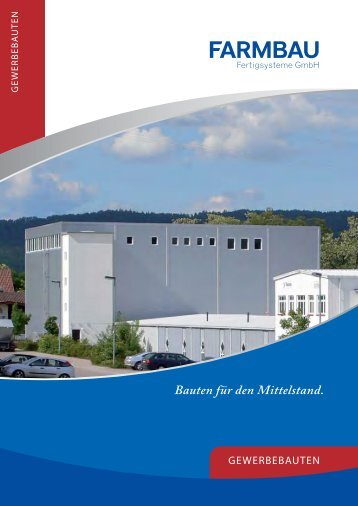 Bauten für den Mittelstand. - Farmbau