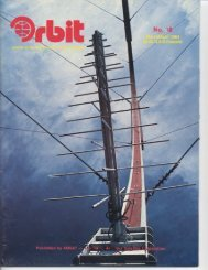AMSAT Orbit issue 18, March-April 1984 - Phil Karn, KA9Q