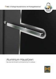 Aluminium-Haustüren - Hörmann
