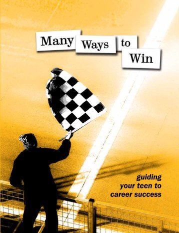 guiding your teen to career success - CA Career Briefs