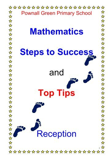Mathematics Steps to Success and Top Tips Reception