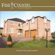 The Charter House, Sandy Lane, Bawtry - Fine & Country