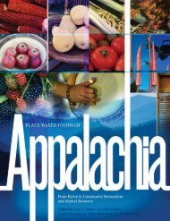Place-Based Foods of Appalachia - Gary Nabhan