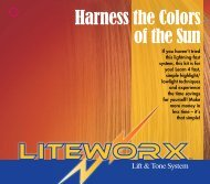 Harness the Colors of the Sun - Tressa