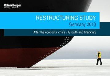 RESTRUCTURING STUDY - Roland Berger