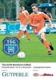 Download - TSG 62/09 Weinheim