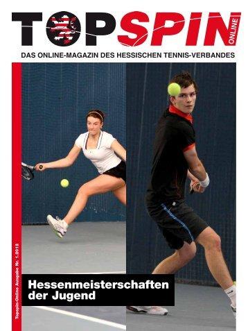 Topspin 1/2012 - Tennisbezirk Mittelhessen