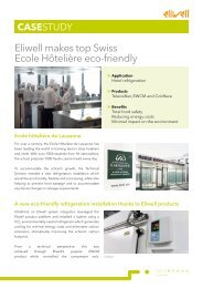 Eliwell makes top Swiss Ecole Hôtelière eco-friendly