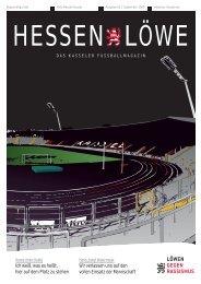 Hessenlöwe September 2009 (7,86 MB) - KSV Hessen Kassel