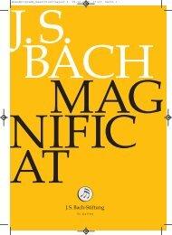 Durchblick. rheMcruDrkcilbhc.k - Bach Cantatas
