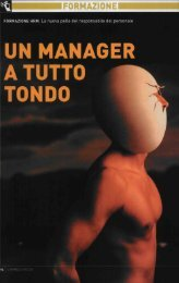 UN MANAGER A TUTTO TONDO - Michael Page International