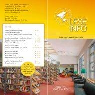 Info-Folder zum Download - Stadtbücherei Innsbruck