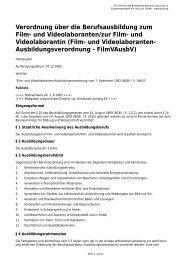und Videolaborantin - Gesetze im Internet