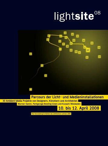 Parcours der Licht - Luminapolis