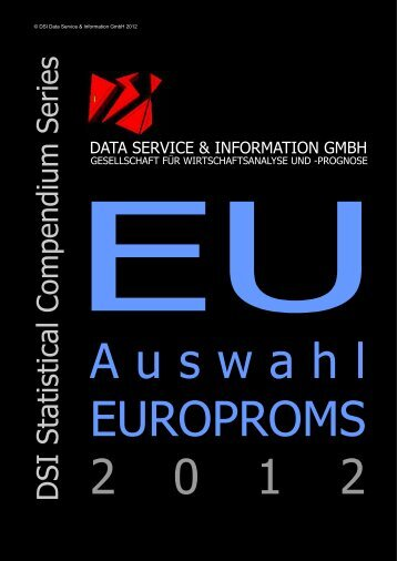 D SI Statistical C om pendium Series - DSI Data Service & Information