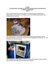 Die Projektdokumentation - Katharina-Kasper-Schule