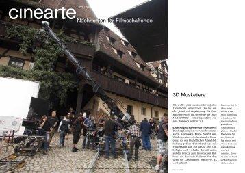 3D Musketiere Nachrichten für Filmschaffende - tolle-rolle.info