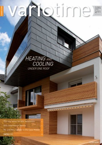 HEATING AND COOLING UNDER ONE ROOF - Variotherm