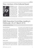 EMS Newsletter June 2010 - European Mathematical Society ... - Page 7