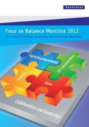 Four in Balance Monitor 2011 - downloads.kennisn... - Kennisnet