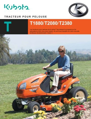 to download the T1880 brochure. - Kubota Canada
