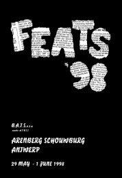 FEATS 1998 programme